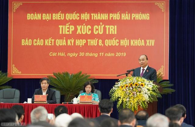 Hình ảnh Thủ tướng tiếp xúc cử tri Hải Phòng - Ảnh 9.