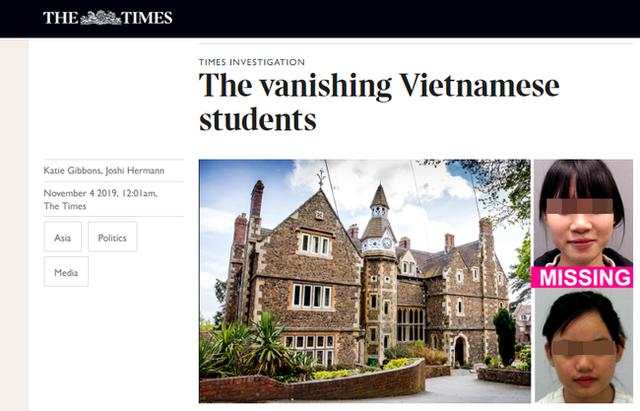 Hàng loạt nữ sinh Việt nhập học ở Anh đột ngột biến mất, một số người được phát hiện đang ở trong tiệm nail - Ảnh 1.