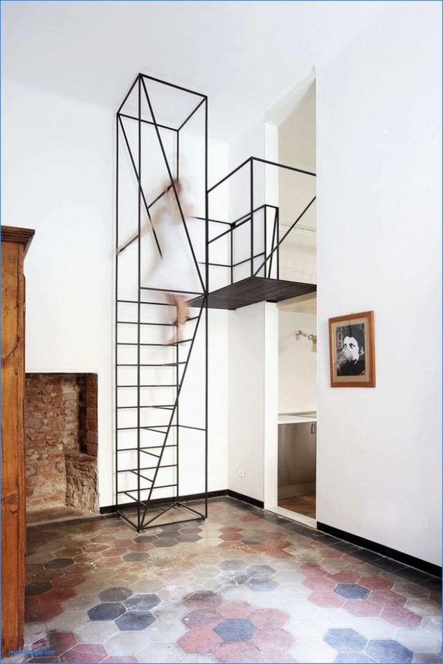 Những mẫu cầu thang phiêu diêu như cung đàn, ngắm mãi không chán - Ảnh 7.