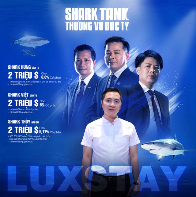 Điểm mặt 28 thương vụ chốt deal thành công trên Shark Tank: 3 startup đã chính thức được rót tiền, Luxstay sở hữu nhiều kỷ lục nhất - Ảnh 2.