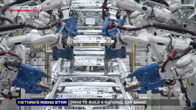 Đài NHK Nhật Bản: VinFast tập trung cho tự động hóa, công nghiệp phụ trợ và đào tạo - Ảnh 2.
