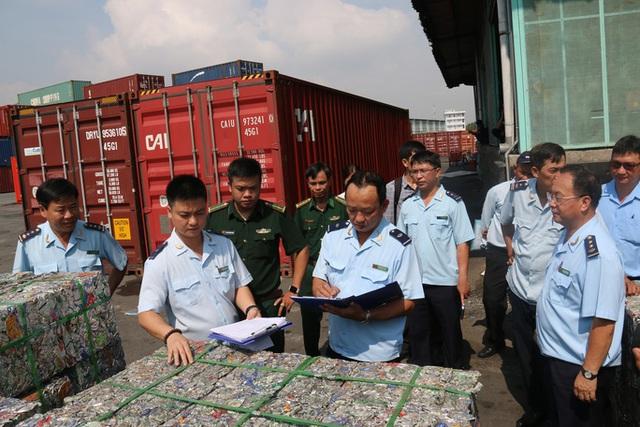 Chặn đứng 100 tấn nhôm phế liệu sắp xuất lậu sang Hàn Quốc - Ảnh 1.