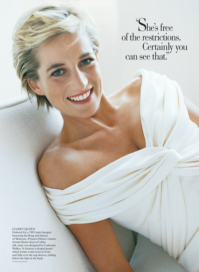 Ngắm bộ ảnh chân dung cuối cùng của Công nương Diana - vẻ đẹp rạng rỡ của sự tự do nhưng cũng là kí ức nhói đau trong lòng 2 Hoàng tử - Ảnh 2.