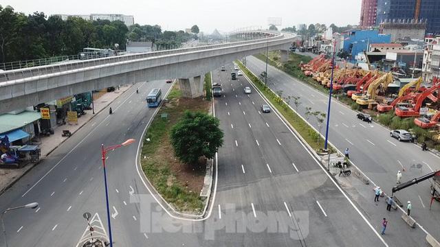 Nhìn từ trên cao nút giao thông cửa ngõ phía Đông Sài Gòn vừa thông xe - Ảnh 3.