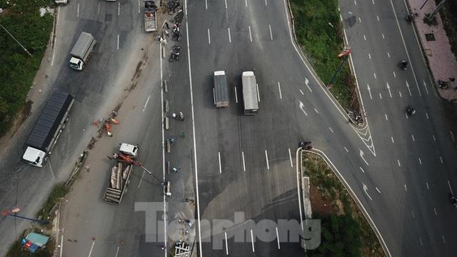 Nhìn từ trên cao nút giao thông cửa ngõ phía Đông Sài Gòn vừa thông xe - Ảnh 4.