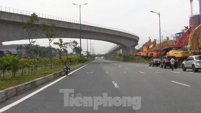 Nhìn từ trên cao nút giao thông cửa ngõ phía Đông Sài Gòn vừa thông xe - Ảnh 6.