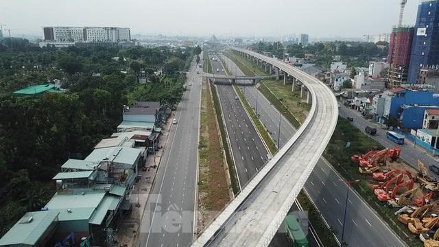 Nhìn từ trên cao nút giao thông cửa ngõ phía Đông Sài Gòn vừa thông xe - Ảnh 10.