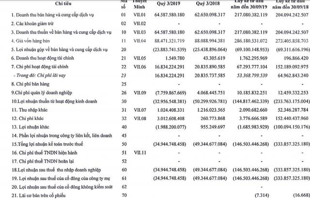 Vận tải biển Phương Đông (NOS) lỗ tiếp 146 tỷ đồng trong 9 tháng, nâng tổng lỗ lũy kế lên trên 4.000 tỷ đồng - Ảnh 1.