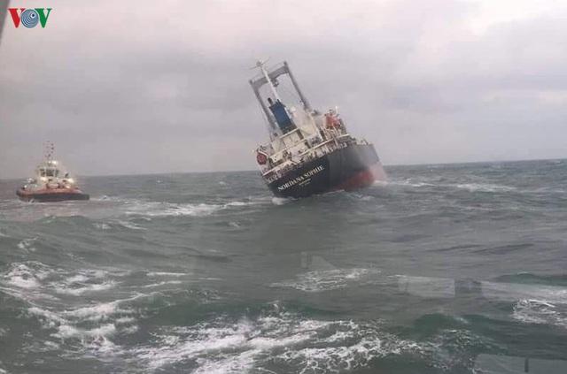 Khắc phục môi trường vì dầu tràn sau sự chìm tàu hàng 9.000 tấn - Ảnh 2.