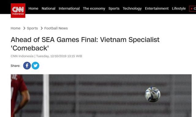 Trước giờ G, báo Indonesia e sợ trước tinh thần quật cường của U22 Việt Nam: Họ là những người duy nhất còn bất bại tại giải đấu năm nay! - Ảnh 1.