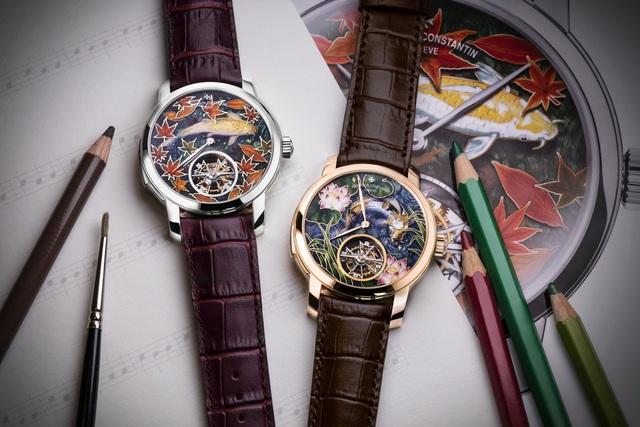 Thương hiệu đồng hồ dành cho giới thượng lưu cùng lúc cho ra mắt 11 mẫu đồng hồ điểm chuông độc đáo - Ảnh 4.