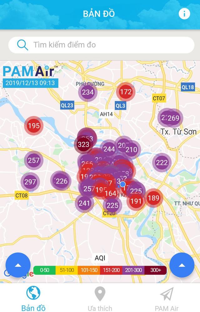 Không khí Hà Nội tiếp tục ở mức ô nhiễm nặng, rất có hại cho sức khỏe - Ảnh 2.