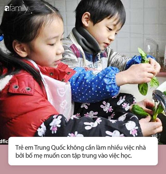 Cha mẹ Việt người gào thét, người nuông chiều con làm việc nhà, hãy xem các nước trên thế giới cha mẹ giao việc cho con thế nào - Ảnh 6.