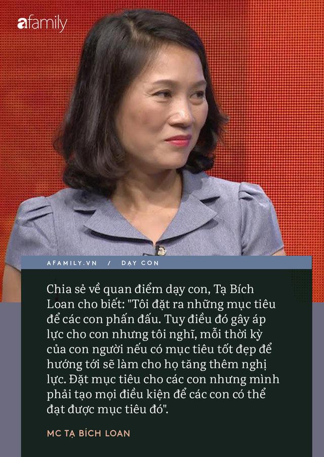 Người phụ nữ quyền lực VTV Tạ Bích Loan giữ chuyện đời tư kín như bưng, nhưng quan điểm dạy con hiếm hoi được bật mí gây bất ngờ - Ảnh 5.