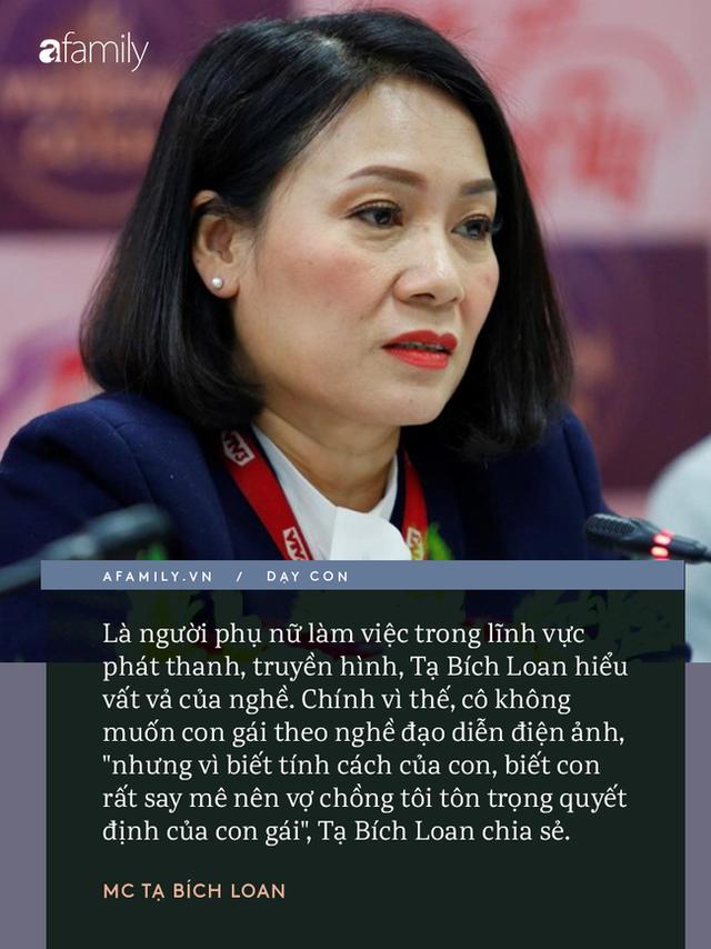 Người phụ nữ quyền lực VTV Tạ Bích Loan giữ chuyện đời tư kín như bưng, nhưng quan điểm dạy con hiếm hoi được bật mí gây bất ngờ - Ảnh 6.