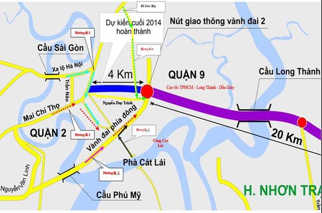 Kiến nghị xây đường kết nối đô thị dọc trục Võ Chí Công đến Nguyễn Duy Trinh (Quận 9) - Ảnh 1.