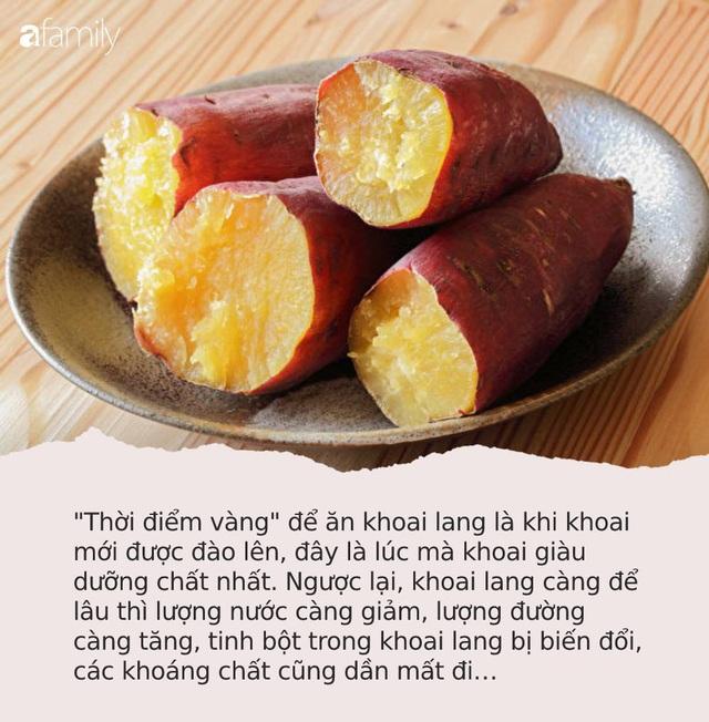 """Nếu ở """"thời điểm vàng"""" này trong ngày bạn ăn 1 củ khoai lang sẽ vừa chống được ung thư vú lại còn giảm cân và sống thọ hơn - Ảnh 1."""