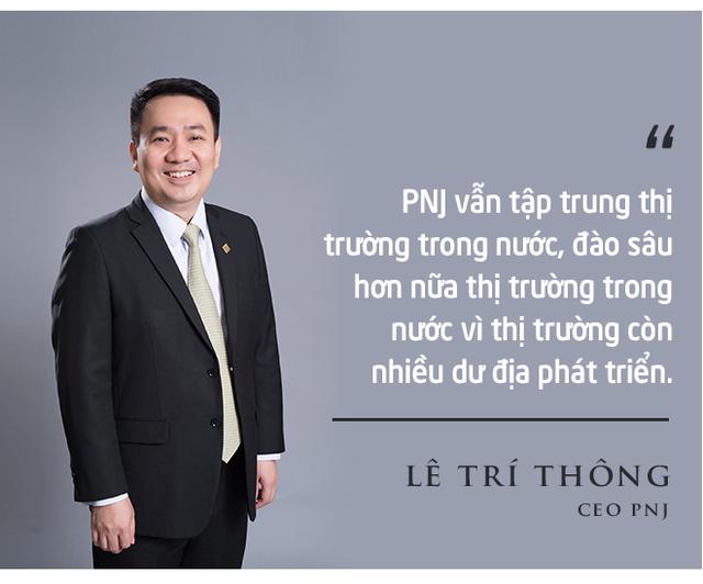CEO PNJ Lê Trí Thông: PNJ đang vươn ra thế giới, chúng tôi cùng các doanh nhân trẻ sẽ chung tay xây dựng Việt Nam hùng cường - Ảnh 8.