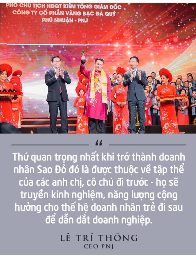 CEO PNJ Lê Trí Thông: PNJ đang vươn ra thế giới, chúng tôi cùng các doanh nhân trẻ sẽ chung tay xây dựng Việt Nam hùng cường - Ảnh 4.