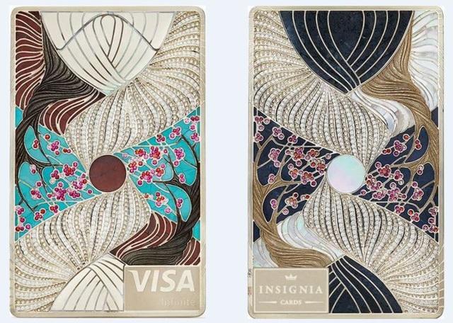 Thẻ tín dụng dành riêng cho tỷ phú: Làm từ kim loại hiếm đã là xưa, đây là loại thẻ được thiết kế riêng, đúc từ vàng, chạm khắc kim cương và đá quý! - Ảnh 2.