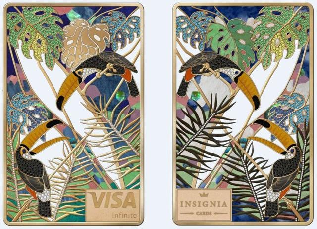 Thẻ tín dụng dành riêng cho tỷ phú: Làm từ kim loại hiếm đã là xưa, đây là loại thẻ được thiết kế riêng, đúc từ vàng, chạm khắc kim cương và đá quý! - Ảnh 3.