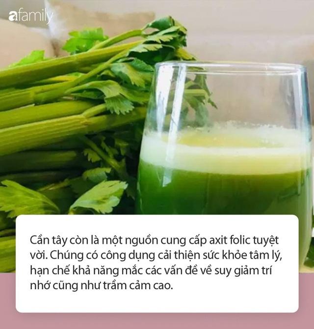 Ăn rau cần tây giúp cơ thể nhận được vô vàn những lợi ích này nhưng ít ai biết - Ảnh 2.