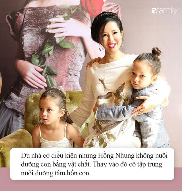 """Nhà giàu nhưng 2 con của Hồng Nhung không biết iPad là gì còn nhầm tưởng rất ngộ nghĩnh, nguyên nhân từ cách dạy """"không giống ai"""" của nữ Diva - Ảnh 3."""