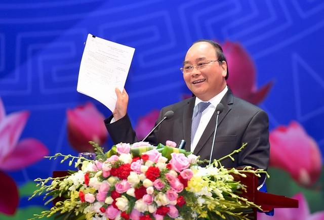 Thủ tướng chủ trì hội nghị với doanh nghiệp - Ảnh 1.