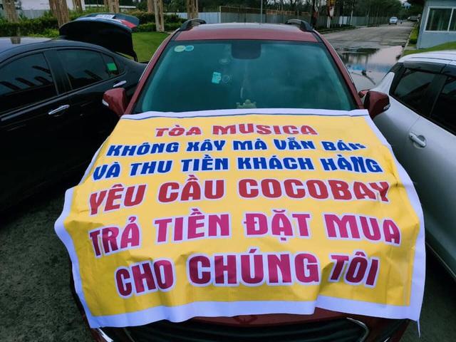 Băng rôn treo kín dự án Cocobay, khách hàng gửi đơn kiện lên Tòa án nhân dân Hà Nội: Thành Đô tuyên bố đơn phương hủy hợp đồng nếu hạn chót 30/12 khách hàng không chịu kí phương án - Ảnh 8.