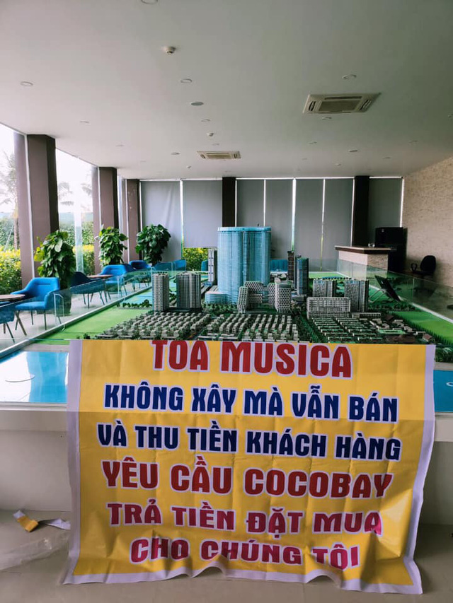 Băng rôn treo kín dự án Cocobay, khách hàng gửi đơn kiện lên Tòa án nhân dân Hà Nội: Thành Đô tuyên bố đơn phương hủy hợp đồng nếu hạn chót 30/12 khách hàng không chịu kí phương án - Ảnh 9.