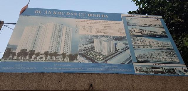 Tỉnh Đồng Nai đã cho dừng dự án khu dân cư Bình Đa - Ảnh 1.