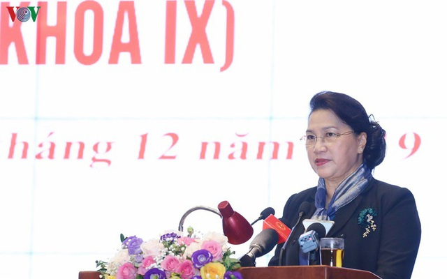 Chủ tịch Quốc hội dự Hội nghị lần thứ hai, Ủy ban TW MTTQ khóa IX - Ảnh 1.