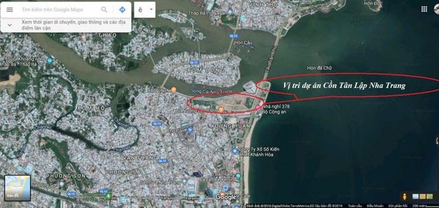 """Trước khi cựu Tổng giám đốc Sông Đà Nha Trang bị bắt, 3 lô đất vàng dự án Cồn Tân Lập đã được chuyển nhượng cho một đại gia """"bí ẩn"""" - Ảnh 1."""
