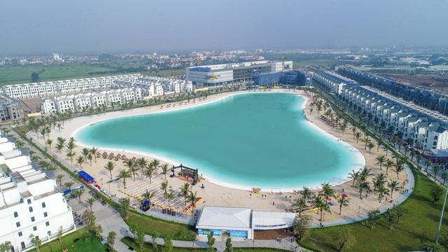 Cận cảnh khu đô thị tại Hà Nội có biển hồ nước mặn và hồ nước ngọt nhân tạo trải cát trắng lớn nhất thế giới - Ảnh 18.