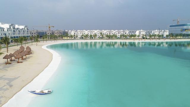 Cận cảnh khu đô thị tại Hà Nội có biển hồ nước mặn và hồ nước ngọt nhân tạo trải cát trắng lớn nhất thế giới - Ảnh 14.