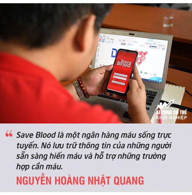 Day dứt chuyện hiến máu tình nguyện, chàng trai Huế khởi nghiệp với ngân hàng máu 4.0 - Ảnh 2.