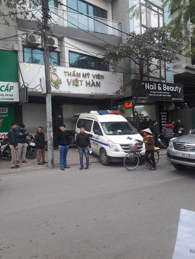 Người đàn ông tử vong khi đi làm đẹp tại thẩm mỹ viện ở Hà Nội - Ảnh 1.