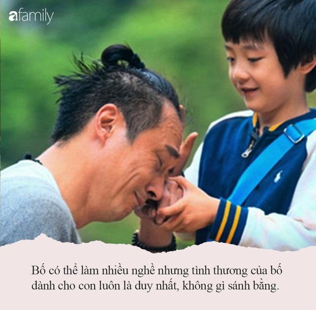 Câu chuyện ấm lòng ngày se lạnh: Bố có thể làm nhiều nghề nhưng tình thương dành cho con luôn là duy nhất!, mọi bậc cha mẹ nên đọc - Ảnh 1.