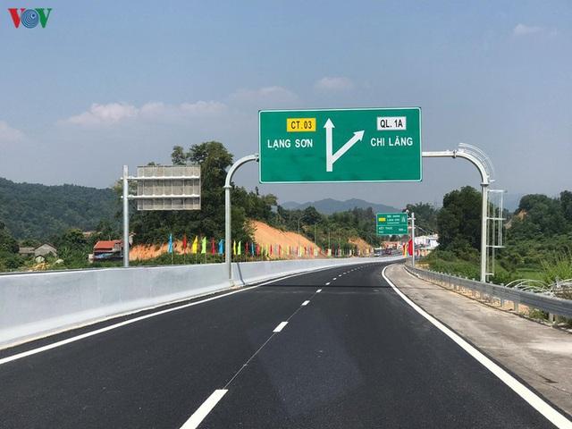 Cao tốc Bắc Giang - Lạng Sơn miễn phí gần 1 tháng cho tất cả các loại xe - Ảnh 1.