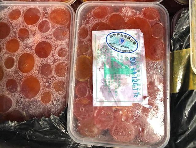 Chặn đứng 2 container chứa hàng tấn thực phẩm đông lạnh nhập lậu tại siêu thị MM Mega Market - Ảnh 3.