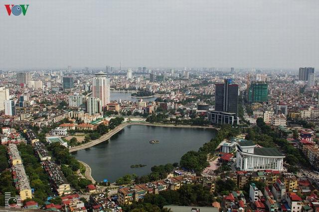 Toàn cảnh hồ Thành Công vừa bị đề xuất lấp để xây chung cư - Ảnh 1.