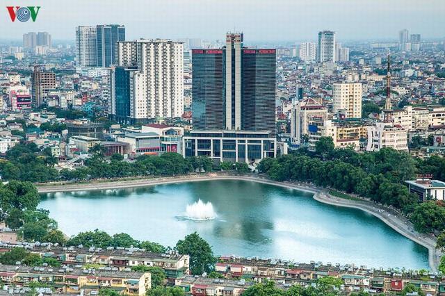 Toàn cảnh hồ Thành Công vừa bị đề xuất lấp để xây chung cư - Ảnh 5.