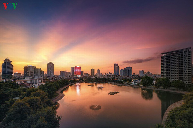 Toàn cảnh hồ Thành Công vừa bị đề xuất lấp để xây chung cư - Ảnh 9.