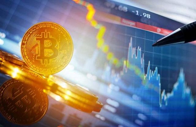 Giá Bitcoin tiếp đà trượt dốc - Ảnh 1.