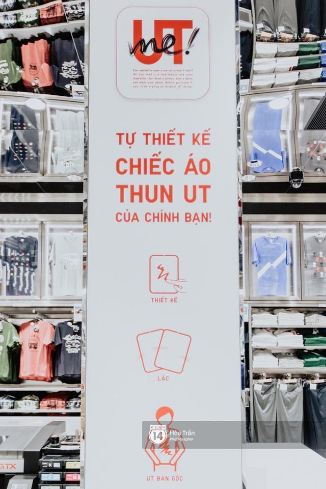 HOT HIT: Những hình ảnh rõ nét xịn sò đầu tiên bên trong store UNIQLO Việt Nam trước ngày khai trương - Ảnh 4.