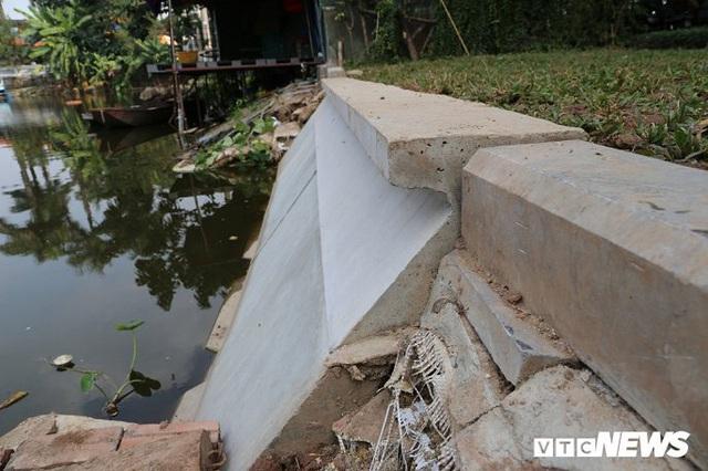 Ảnh: Khối bê tông đúc sẵn nặng 2,5 tấn để kè Hồ Gươm có gì đặc biệt? - Ảnh 4.