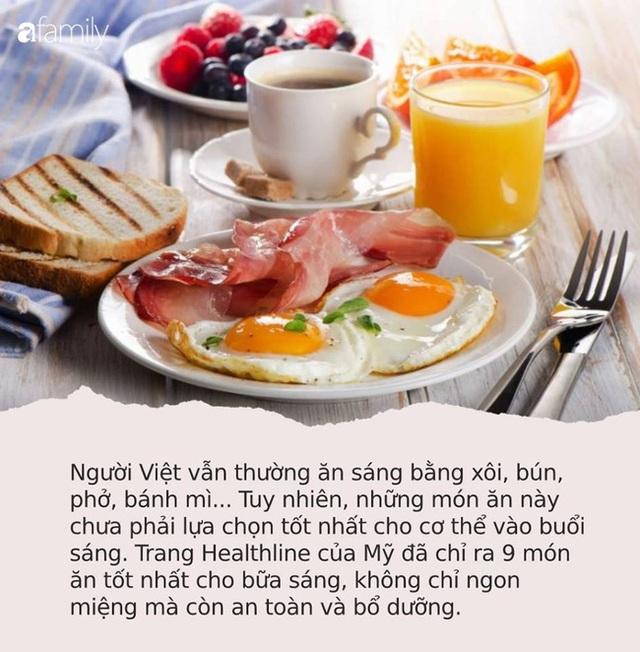 """Không phải xôi hay bún phở, đây là 9 món ăn """"bổ như sâm"""" mọi người nên ăn sáng để chống lại bệnh tật - Ảnh 1."""