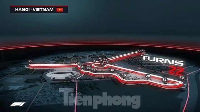 Bay trên đường đua F1 đang thành hình ở Hà Nội - Ảnh 1.