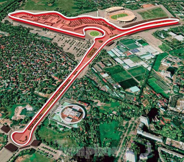 Bay trên đường đua F1 đang thành hình ở Hà Nội - Ảnh 15.