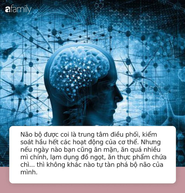 """5 món ăn khiến não bộ """"sợ hãi"""" nhất nhưng rất nhiều người ngày nào cũng ăn: Tác hại nhẹ thì gây suy giảm trí nhớ, nặng thì sa sút trí tuệ - Ảnh 1."""